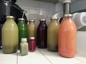 juice and juicers at the ready!