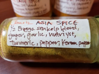 This is a good alternate spice mix, too!